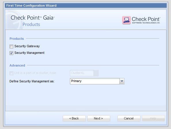 Checkpoint – Checkpoint Fundamentals and first time configuration